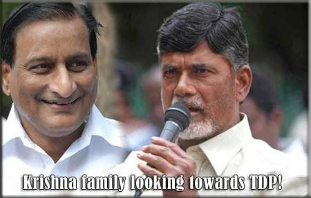 Krishna family looking towards TDP!