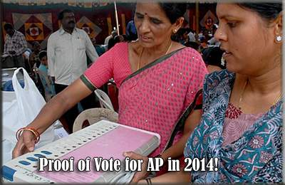 Proof of Vote for AP in 2014!