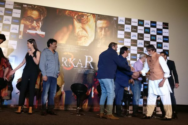 Ram Gopal Varma Embarrass Amitabh Bachchan at Sarkaar 3 Trailer Launch