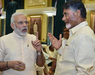 Modi Not to Give Third Chance to Naidu?
