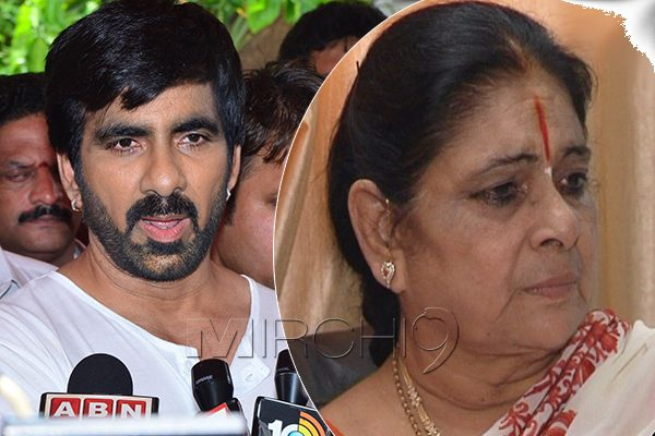Mother Comes To Defense Of Mass Star Ravi Teja