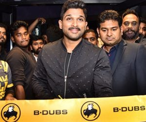 Allu Arjun Launches Buffalo Wild Wings B-Dubs Photos