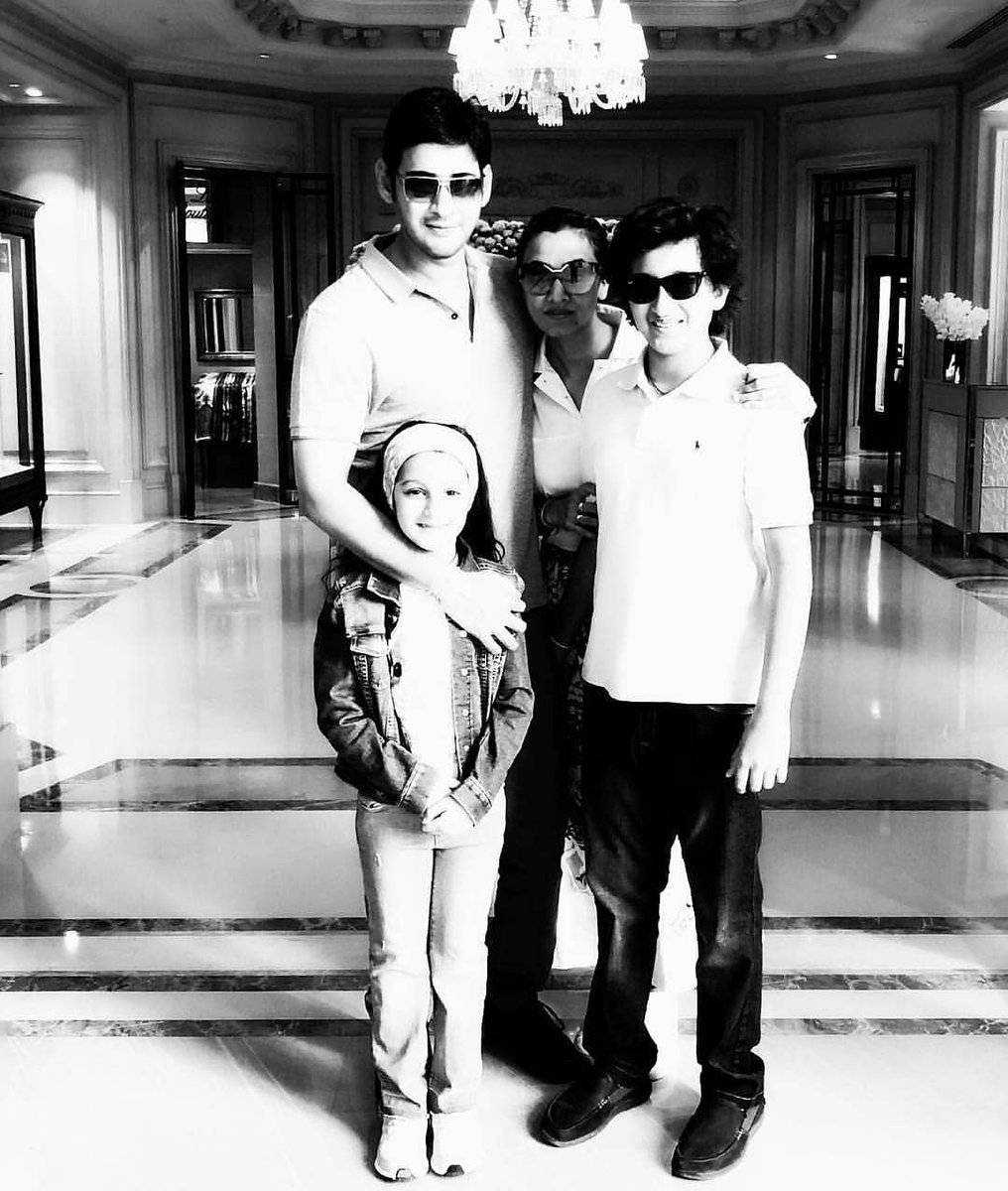 Mahesh Babu Son's Height Quite Conspicuous