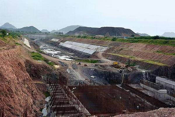 Telangana Projects expenditure