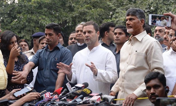 Congress to Go Alone in AP, What Happened Between Naidu and RaGa?