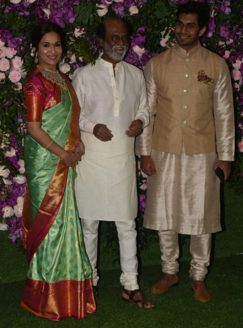 Rajinikanth-at-Big-Fat-Wedding-with-New-Son-In-Law