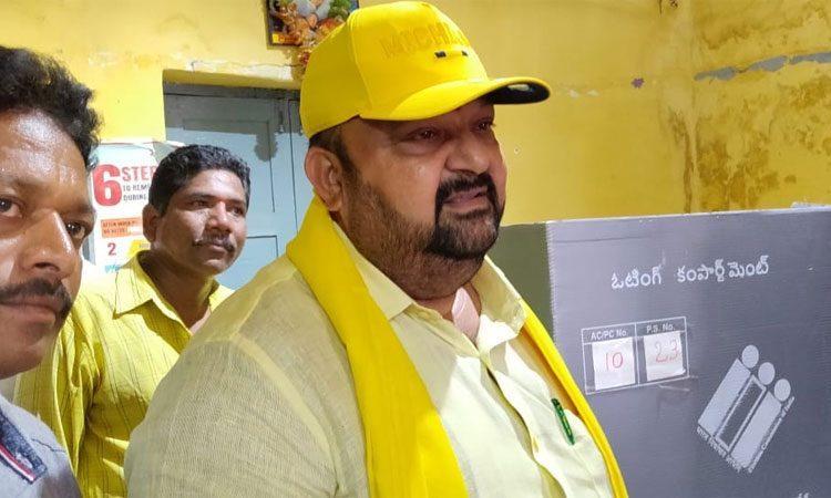 Here is the Andhra Pradesh Survey of a TDP MP Maganti Babu