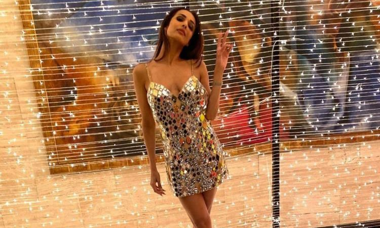 Malaika Arora Khan Dance Short Dress
