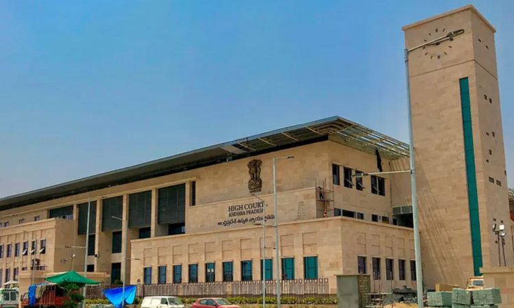 andhra-pradesh-high-court-unhappy-with-ysrcp-party-colors-for-government-buildings