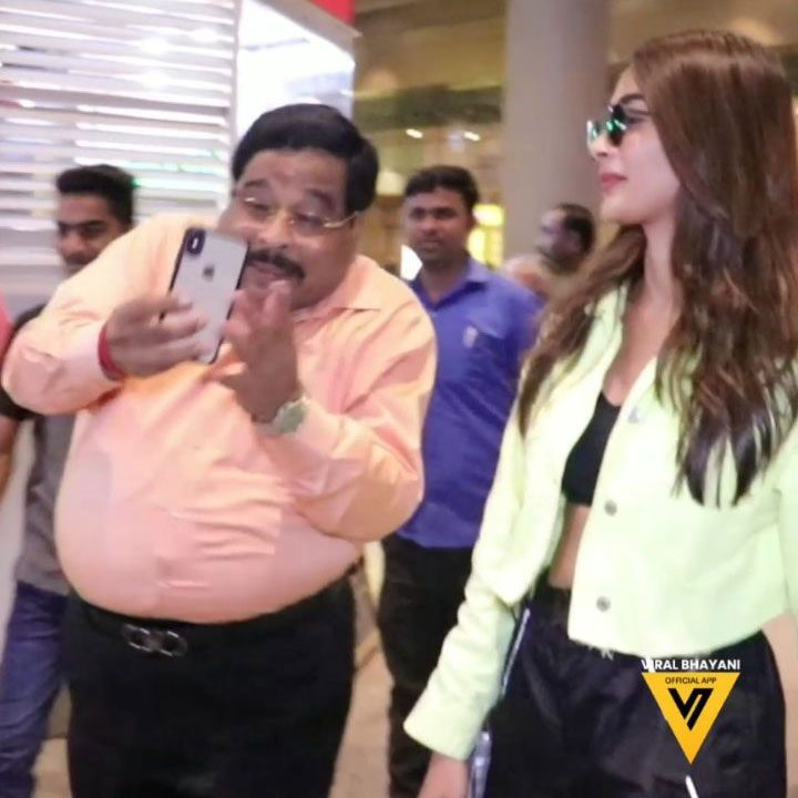 Middle-Age Uncle Crazily Chasing Pooja Hegde