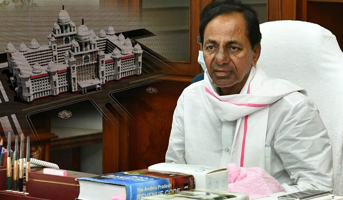 No COVID Review, KCR Sits 11 Hours Non-Stop for New Secretariat
