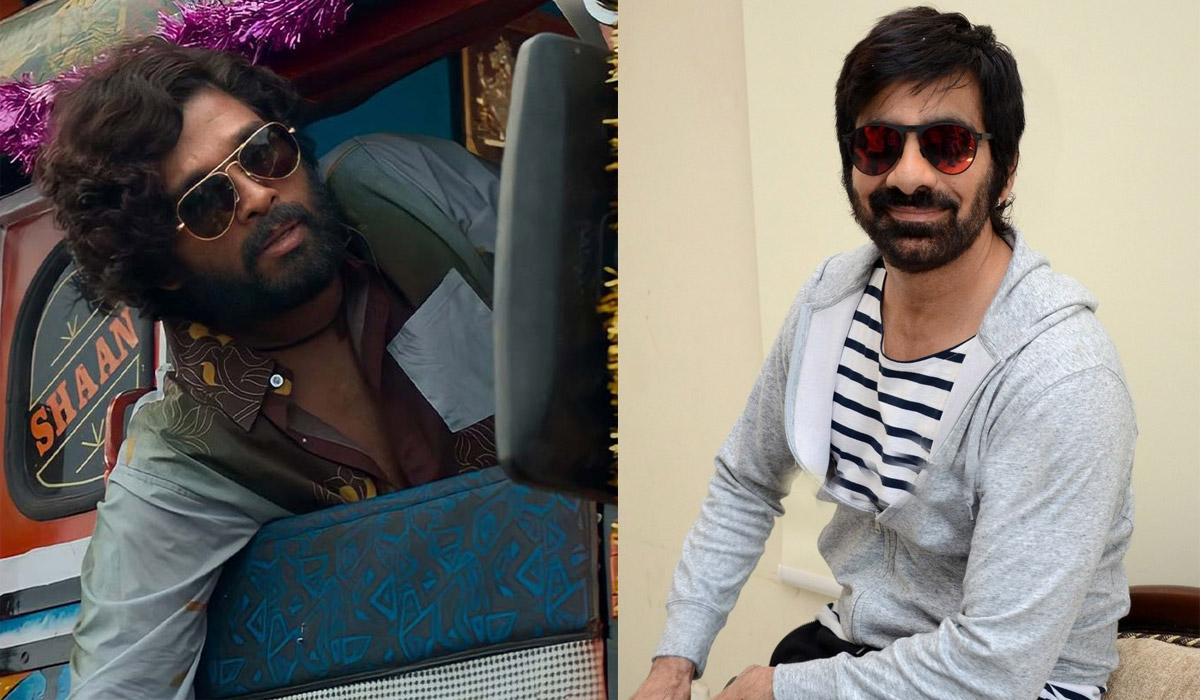 Pushpa Connection For Ravi Teja's Next?